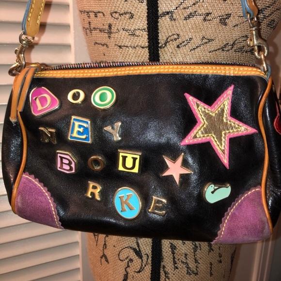 Dooney & Bourke Handbags - Dooney and Bourke Charm #2 Leather Satchel